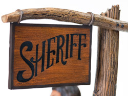 Sheriff sign