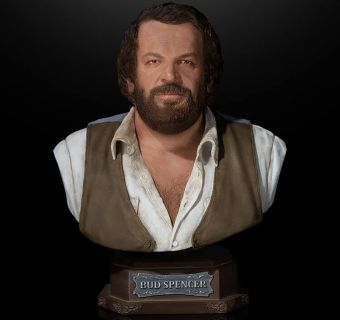 Bud Spencer 1/4 Scale Bust